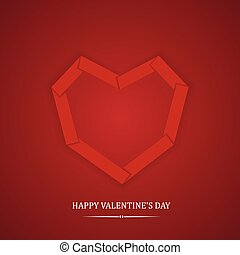 Greeting card Happy Valentine's Day. ?