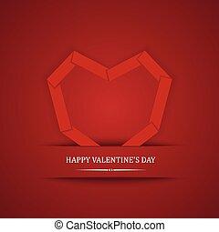 Greeting card Happy Valentine's Day