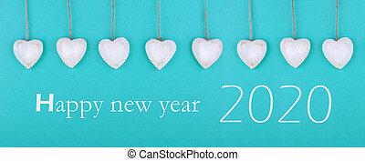 greeting card new year 2019