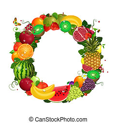 greeting card of fruit