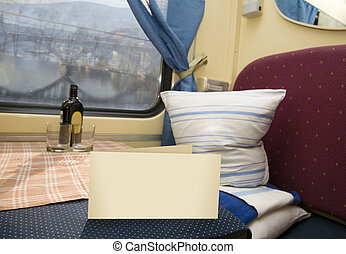 first-class compartment