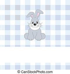 rabbit - Greeting card rabbit