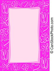 greeting card template background