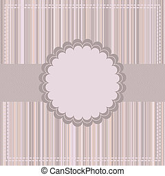 Greeting card template. EPS 8