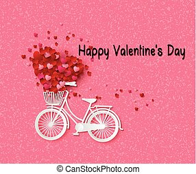 Greeting card with bike