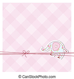 Greeting card with copy space - Card with copy space