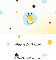 Greeting card with copy space