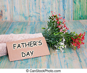 greeting card with happy father's day