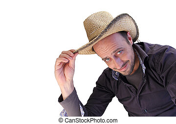 greeting cowboy