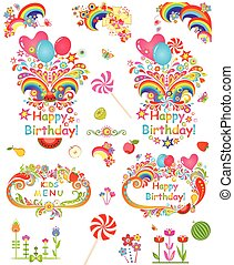Greeting for birthday party