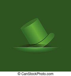 Greeting for Saint Patricks Day Celebration stock vector