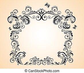 Greeting frame