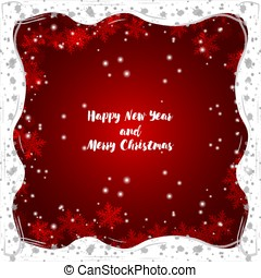 Greeting: Merry Christmas and Happy New Year.