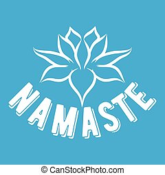 Greeting posture of namaste - Indian womans hand greeting...
