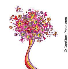 Greeting tree