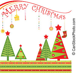 Greeting xmas card
