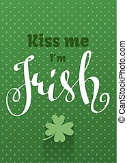 Greetings card for St. Patricks Day