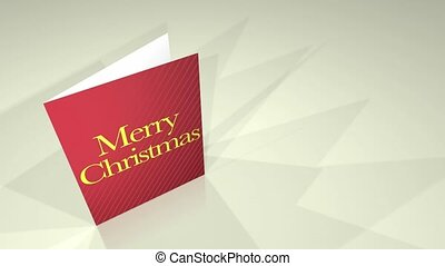 Greetings Card Merry Christmas HD
