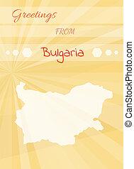 greetings from bulgaria