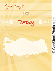 Greetings from italy yellow greetings card from italy and eps greetings from turkey m4hsunfo