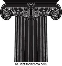 grego, coluna ionic