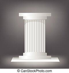 grego, coluna