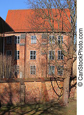 greifswald, franciscan 大修道院, ドイツ, 歴史的, 記念碑, listd
