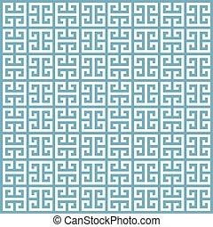 grek, geometryczny wzór