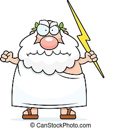 grek, gniewny, bóg