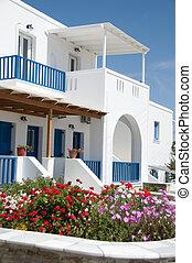 grekisk arkitektur, cyclades öar