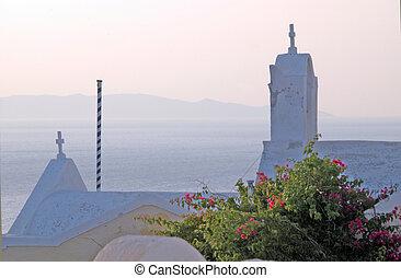 grekisk kyrka, öar