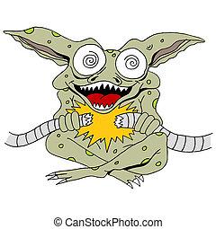 Gremlin - An image of a gremlin.
