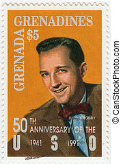 GRENADA - CIRCA 1991 : stamp printed in Grenada shows Harry ...