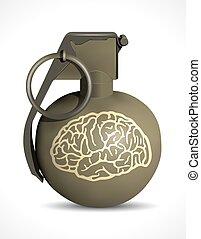 Grenade - brain damage
