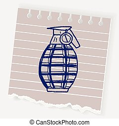 Grenade doodle