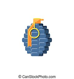 grenade explosive isolated icon