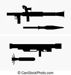 Grenade launchers, shade pictures