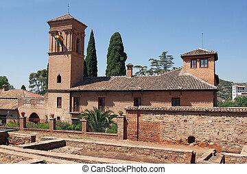 grenade, palais alhambra, espagne