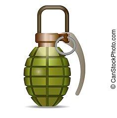 grenade - vector illustration
