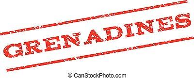 Grenadines Watermark Stamp - Grenadines watermark stamp....