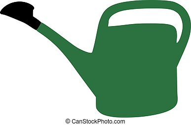 Grenn watering can