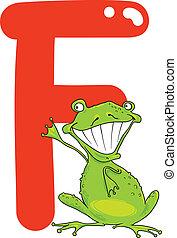 grenouille, f
