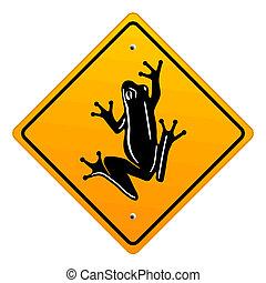 grenouille, signe