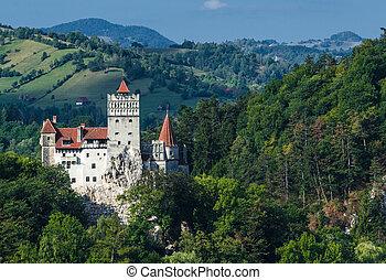 grenzstein, hofburg, mittelalterlich, transylvania, kleie