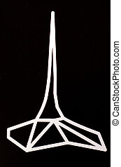 grenzstein, symbol, melbourn, zeichen
