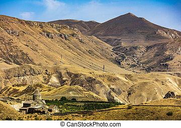 grenzstein, vorotan, vorotnavank, kirche, syunik, armenien