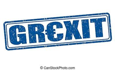 grexit, bélyeg