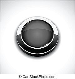Grey 3d button.