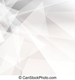 Grey abstract geometric background for design