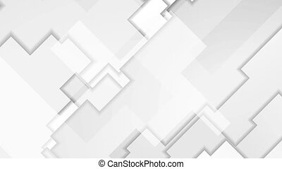 Grey abstract geometry background motion design - Grey...